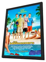 The Inbetweeners Movie - 11 x 17 Movie Poster - Style C - in Deluxe Wood Frame