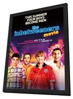 The Inbetweeners Movie - 27 x 40 Movie Poster - Style A - in Deluxe Wood Frame