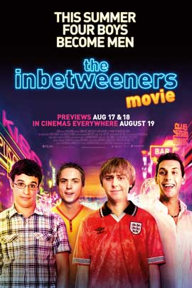 The Inbetweeners Movie - 27 x 40 Movie Poster - Style A