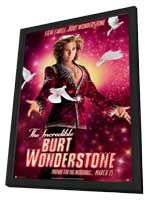 The Incredible Burt Wonderstone - 11 x 17 Movie Poster - Style B - in Deluxe Wood Frame