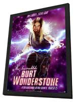 The Incredible Burt Wonderstone - 11 x 17 Movie Poster - Style C - in Deluxe Wood Frame