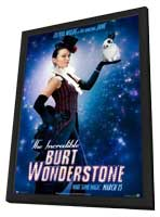 The Incredible Burt Wonderstone - 11 x 17 Movie Poster - Style D - in Deluxe Wood Frame