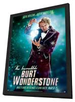 The Incredible Burt Wonderstone - 11 x 17 Movie Poster - Style F - in Deluxe Wood Frame