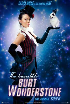 The Incredible Burt Wonderstone - 11 x 17 Movie Poster - Style D