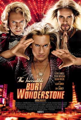 The Incredible Burt Wonderstone - DS 1 Sheet Movie Poster - Style A