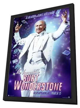 The Incredible Burt Wonderstone - 11 x 17 Movie Poster - Style E - in Deluxe Wood Frame