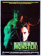 The Incredible Hulk - 27 x 40 Movie Poster - Danish Style A