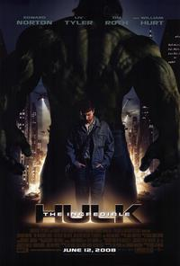 The Incredible Hulk - 43 x 62 Movie Poster - Bus Shelter Style A