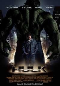The Incredible Hulk - 27 x 40 Movie Poster - Italian Style B