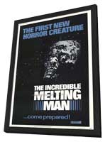 The Incredible Melting Man - 27 x 40 Movie Poster - Style A - in Deluxe Wood Frame