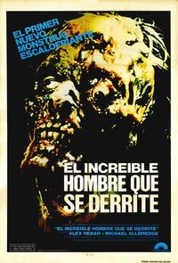 The Incredible Melting Man - 11 x 17 Movie Poster - Spanish Style A
