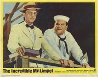 The Incredible Mr. Limpet - 11 x 14 Movie Poster - Style B