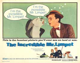 The Incredible Mr. Limpet - 11 x 14 Movie Poster - Style I