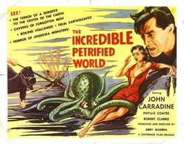 The Incredible Petrified World - 22 x 28 Movie Poster - Half Sheet Style A