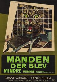 The Incredible Shrinking Man - 11 x 17 Movie Poster - Danish Style A