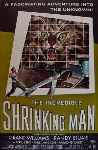 The Incredible Shrinking Man - 27 x 40 Movie Poster - Style B