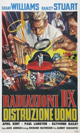 The Incredible Shrinking Man - 11 x 17 Movie Poster - Italian Style B