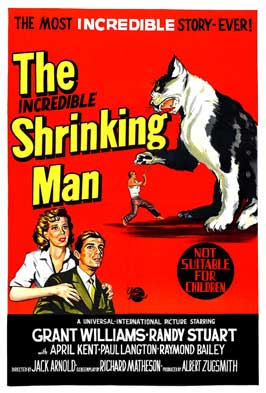 The Incredible Shrinking Man - 43 x 62 Movie Poster - Bus Shelter Style B