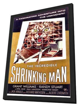 The Incredible Shrinking Man - 11 x 17 Movie Poster - Style A - in Deluxe Wood Frame