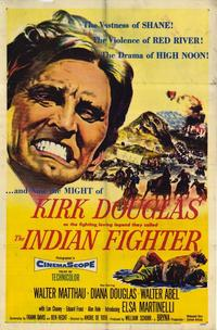 The Indian Fighter - 27 x 40 Movie Poster - Style A