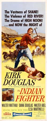 The Indian Fighter - 14 x 36 Movie Poster - Insert Style A