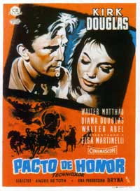 The Indian Fighter - 11 x 17 Movie Poster - Spanish Style A