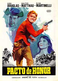 The Indian Fighter - 43 x 62 Movie Poster - Spanish Style A