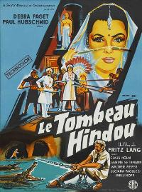 The Indian Tomb - 11 x 17 Movie Poster - French Style A