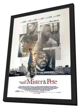 The Inevitable Defeat of Mister and Pete - 27 x 40 Movie Poster - Style A - in Deluxe Wood Frame