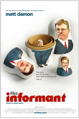 The Informant! - 11 x 17 Movie Poster - Style D