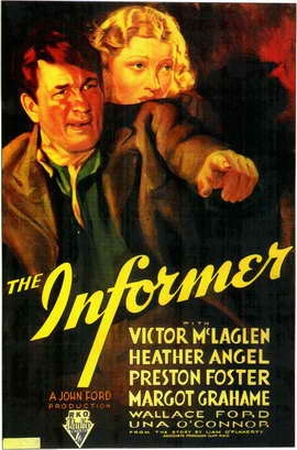 The Informer - 11 x 17 Movie Poster - Style A