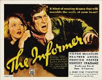 The Informer - 30 x 40 Movie Poster UK - Style A