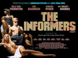 The Informers - 11 x 17 Movie Poster - UK Style B