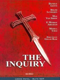The Inquiry - 11 x 17 Movie Poster - Style B