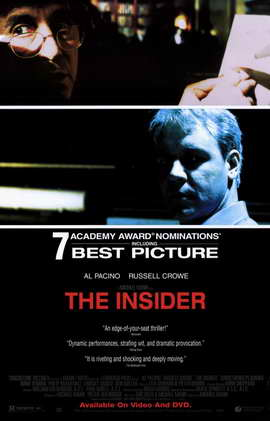 The Insider - 11 x 17 Movie Poster - Style B