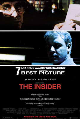 The Insider - 27 x 40 Movie Poster - Style B