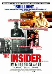 The Insider - 11 x 17 Movie Poster - Style D