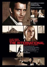 The International - 11 x 17 Movie Poster - Spanish Style A