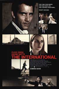 The International - 43 x 62 Movie Poster - Bus Shelter Style B