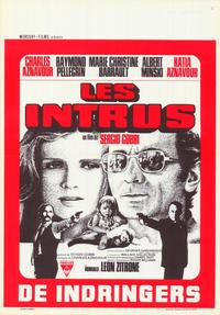 The Intruders - 27 x 40 Movie Poster - Belgian Style A