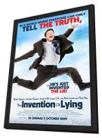 The Invention of Lying - 27 x 40 Movie Poster - UK Style A - in Deluxe Wood Frame