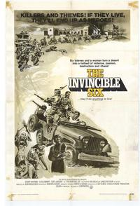 The Invincible Six - 27 x 40 Movie Poster - Style A