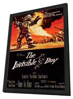 The Invisible Boy - 11 x 17 Movie Poster - Style A - in Deluxe Wood Frame