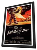 The Invisible Boy - 27 x 40 Movie Poster - Style A - in Deluxe Wood Frame