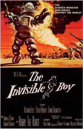 The Invisible Boy - 11 x 17 Movie Poster - Style A