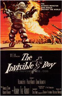 The Invisible Boy - 43 x 62 Movie Poster - Bus Shelter Style A