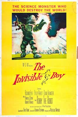 The Invisible Boy - 27 x 40 Movie Poster - Style C