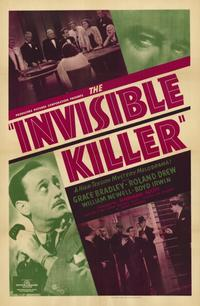 The Invisible Killer - 11 x 17 Movie Poster - Style A