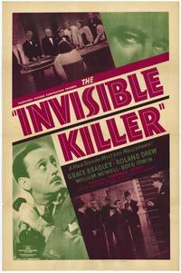The Invisible Killer - 27 x 40 Movie Poster - Style A