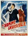 The Invisible Man - 27 x 40 Movie Poster - Belgian Style A
